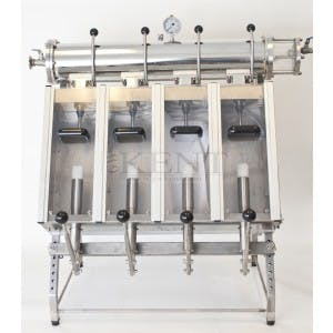Sparkling Filling Machine (2 or 4 spout options) Bottle filler sold by GW Kent