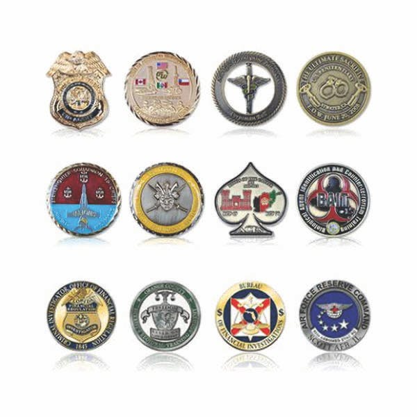 Challenge Coins/Medals  Souvenir medal sold by The Pin People, LLC
