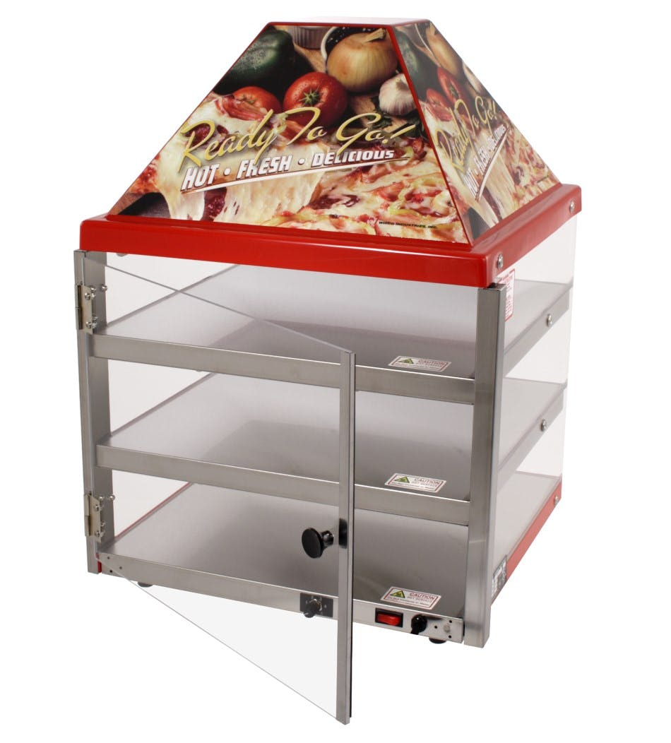 Wisco 680-3 Mini Hutch Hot Food Merchandiser Merchandiser sold by pizzaovens.com