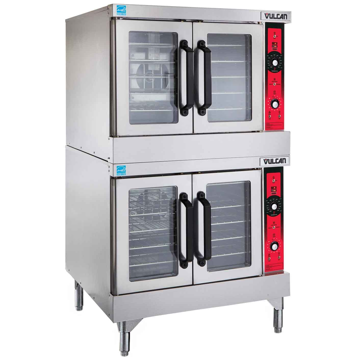 Vulcan VC44GD - Double Deck Gas Convection Oven Commercial oven sold by Prima Supply
