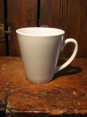 12 oz Funnel Cup Ceramic mug sold by Promotional Concepts of Wisconsin