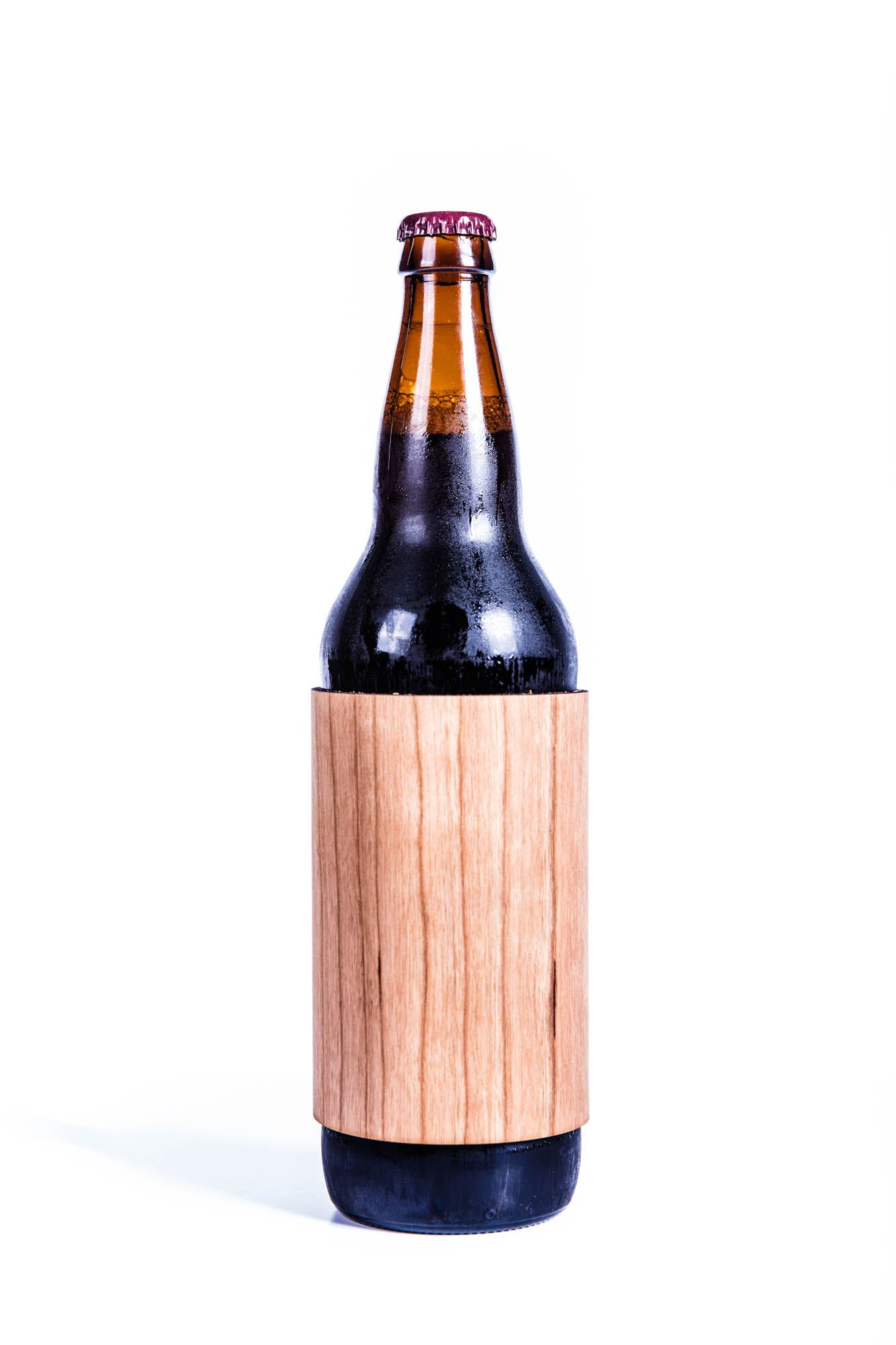Real Wood 22oz. Koozie Koozie sold by Just 1 Tree