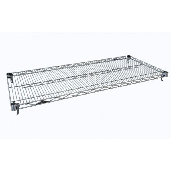 "18"" x 72"" Super Adjustable 2 Super Erecta Chrome Shelf"