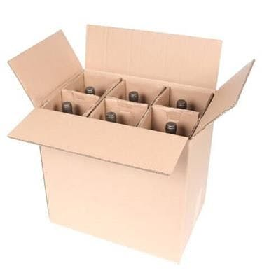 Six Magnum Bottle Wine Shipper - Six Magnum Bottle Wine Shipper - sold by SpiritedShipper