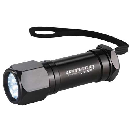 Workmate 8 LED Aluminum Superbright Flashlight - 1225-91 - Leeds Promotional flashlight sold by Distrimatics, USA