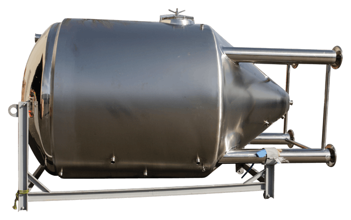 40 bbl jacketed fermenter Fermenter sold by GLACIER TANKS