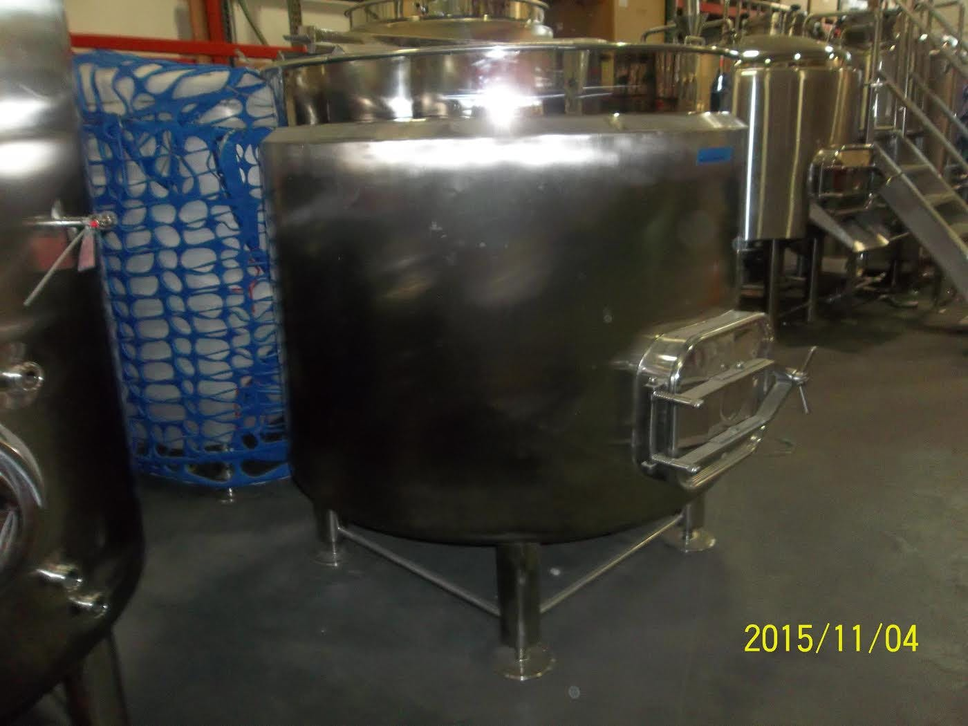 10 bbl Insulated Mash Tun Brewhouse sold by GLACIER TANKS