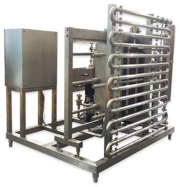 Brew Pasteurizer Draft beer system sold by TPS Process Equipment
