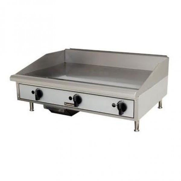 "36"" Natural Gas Countertop Griddle"