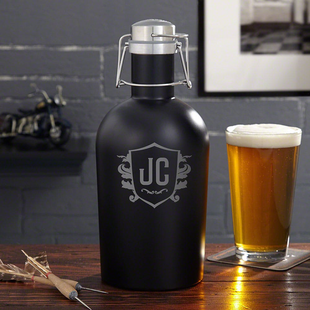 Blackout Stainless Steel Growler Growler sold by HomeWetBar.com