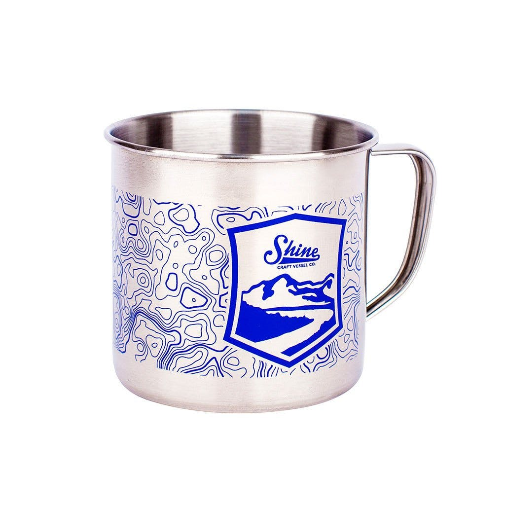 Pint Mugs - Blue - sold by Shine Craft Vessel Co.