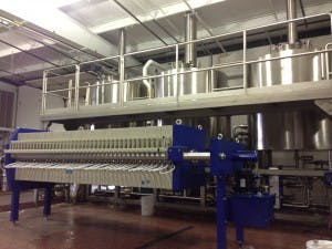Mash Filter Brewhouse Systems Brewhouse sold by Aegir Brewing Systems