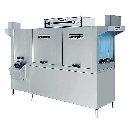 Champion - 86-PW 277 Rack/Hr High Temp Conveyor Dishwasher w/ Prewash Commercial dishwasher sold by Food Service Warehouse