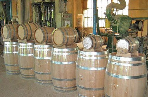 Small Whiskey Barrel in Any Size Barrel sold by Exotic Barrels