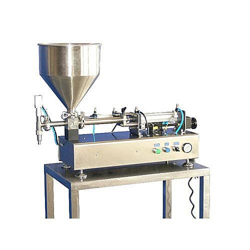 100 ml High Viscosity Piston Fillers (20-100 ml Filling Range) Bottle filler sold by Freund Container & Supply
