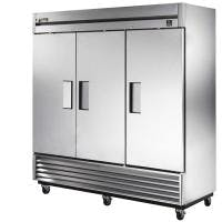 True TS-72F - 72 Cu. Ft. Stainless Steel 3 Door Freezer Commercial freezer sold by Prima Supply