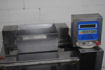 Polin model 46MTR/FL Depositor with Wire-Cut Attachment Cookie depositor sold by Union Standard Equipment Co