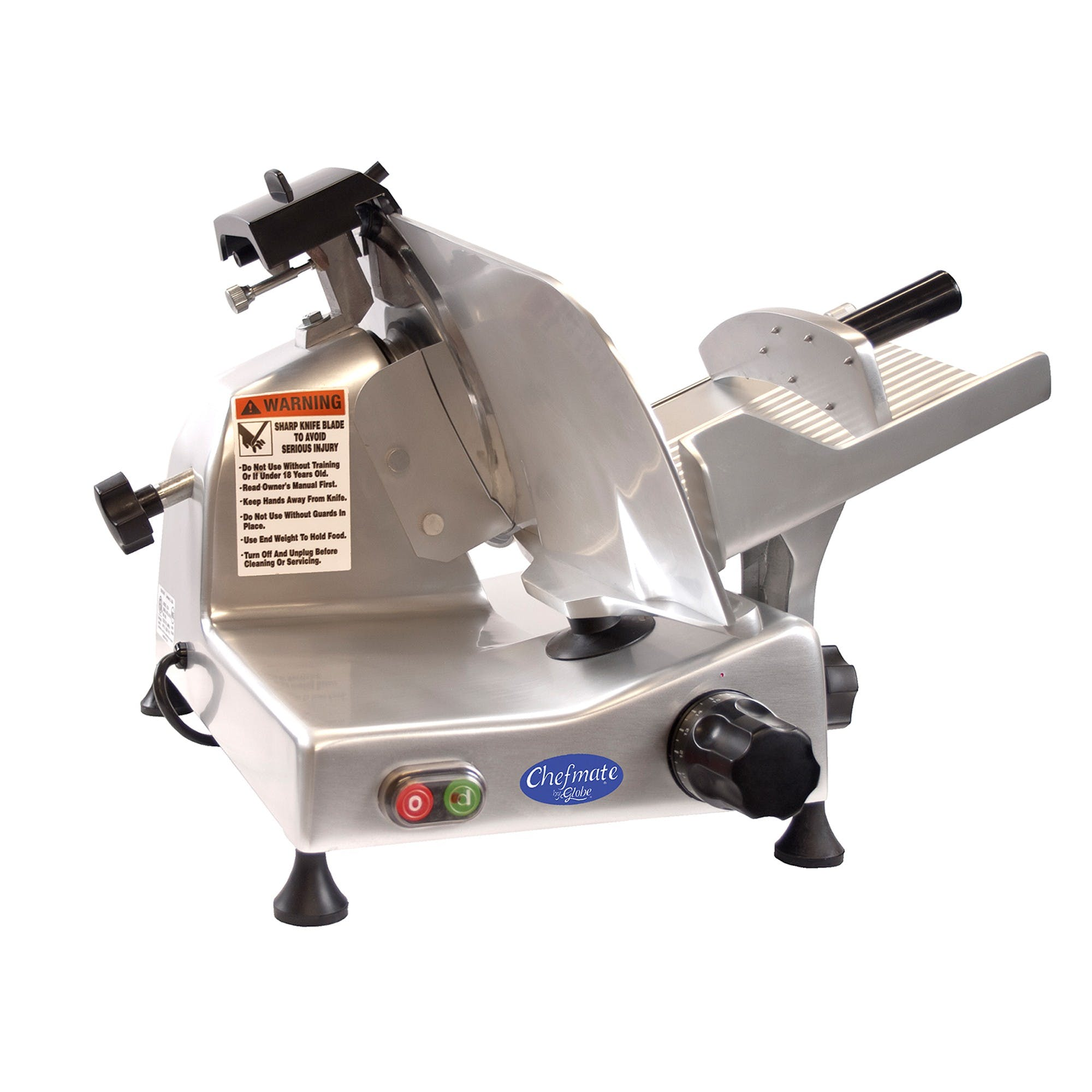 "Globe | E220 | Economy 9"" Light Duty Manual Meat Slicer Meat slicer sold by Mission Restaurant Supply"