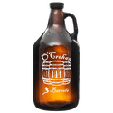 64-AMB 64oz Amber Growler - Growler sold by Branded Brewsky