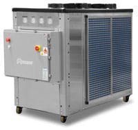 BCD-10A-65G Glycol Chiller : 10 Horsepower Glycol chiller sold by Advantage Engineering
