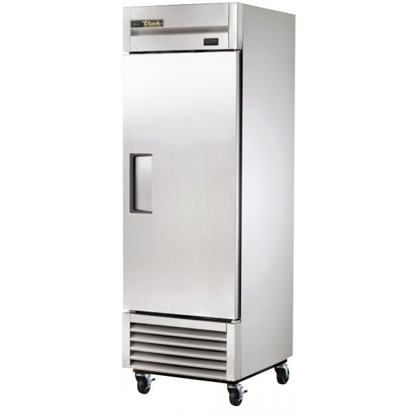 "27"" Stainless 1 Door Reach-In Refrigerator"