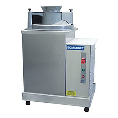 Somerset SDR-400 Dough press sold by Pizza Solutions