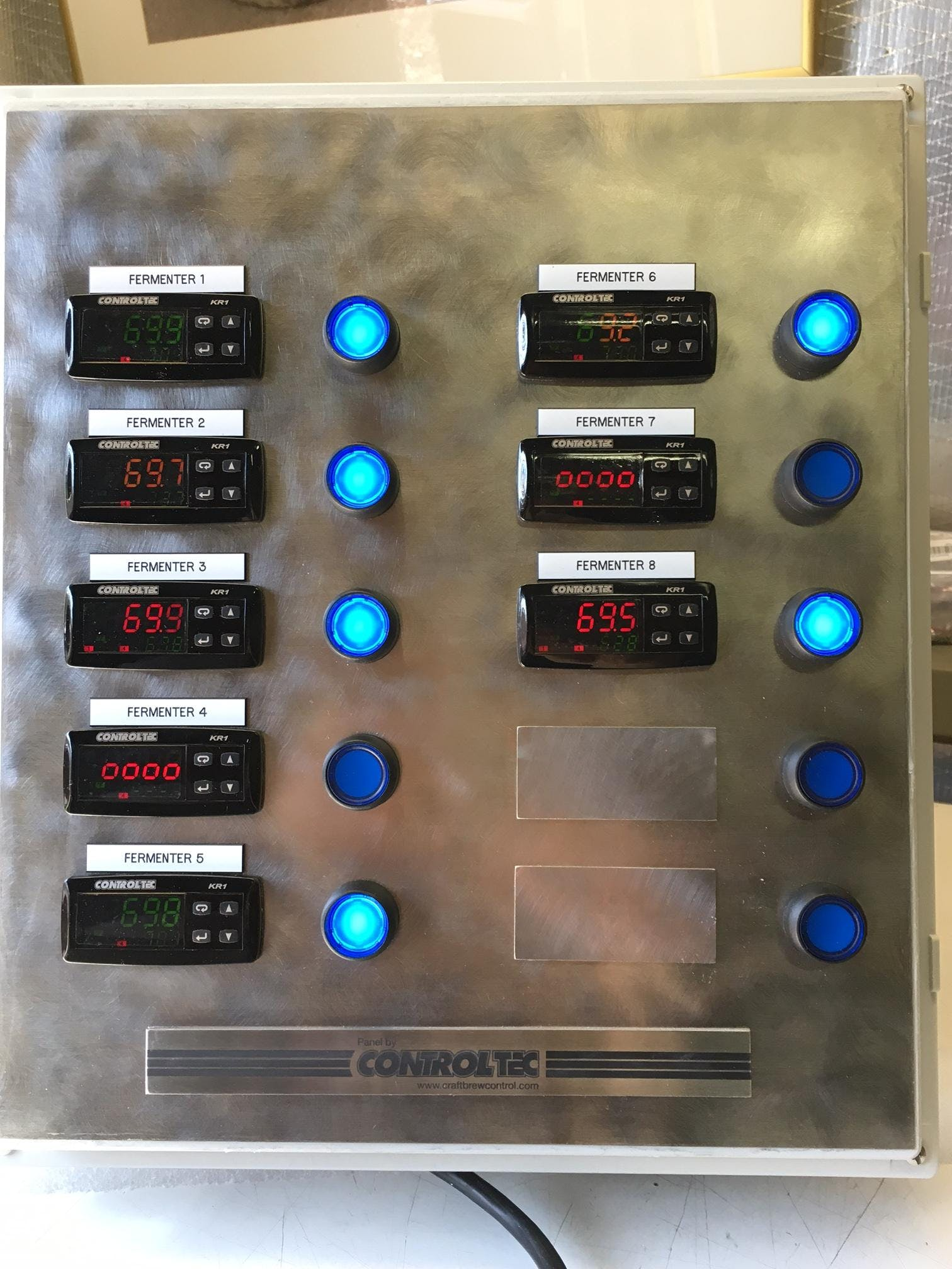 Premium Cellar Panels Control System sold by ControlTec, Inc