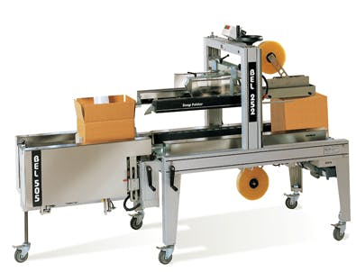 Case Erecting and Case Sealing Case sealer/taper sold by SPS Packaging