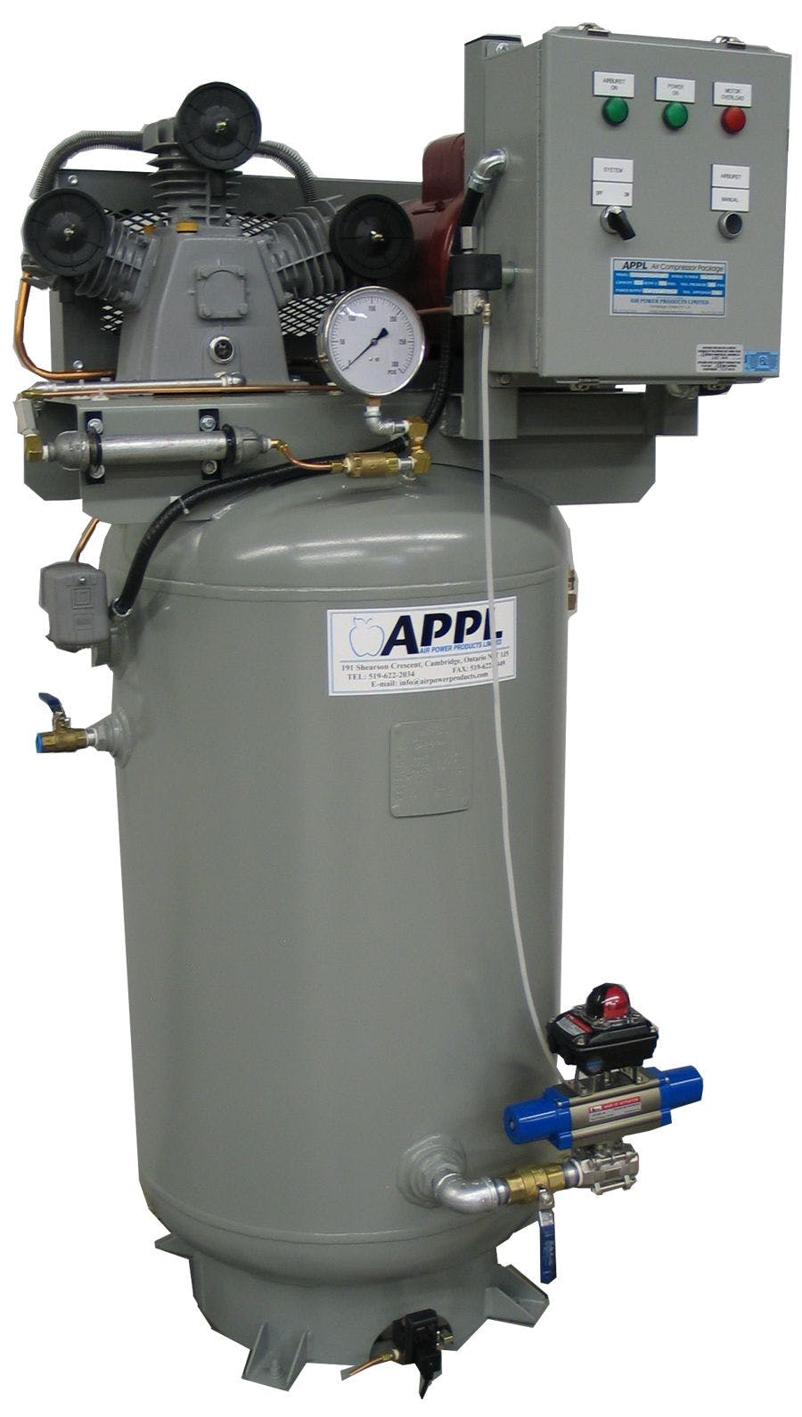 Air Burst System Air compressor sold by Air Power Products Limited