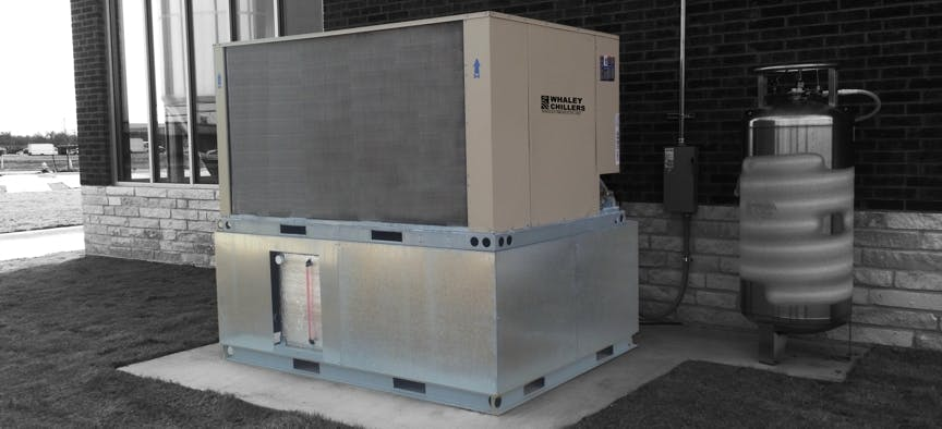 SA Series Packaged Chillers Glycol chiller sold by Whaley Products, Inc.