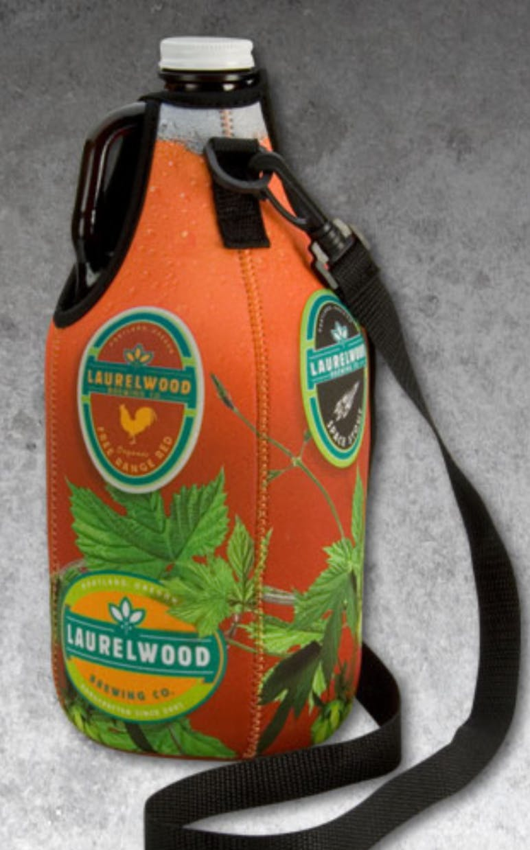 GrowlerSuit Koozie sold by Brewsuit.com