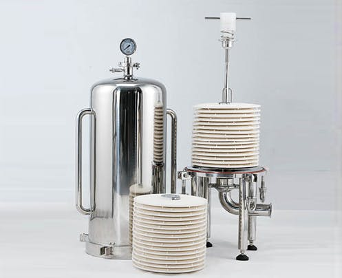 Lenticular Filter Housings Wine filtration sold by Nova Filtration Technologies