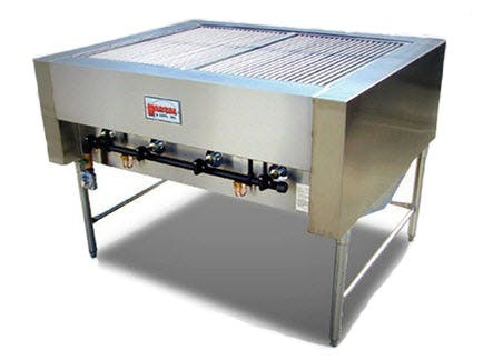 Marsal CH-4 Gas Charbroiler Broiler sold by pizzaovens.com