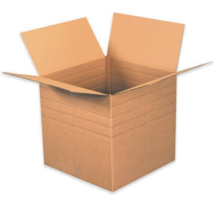 Heavy-Duty Multi-Depth Kraft Boxes Kraft packaging sold by Ameripak, Inc.