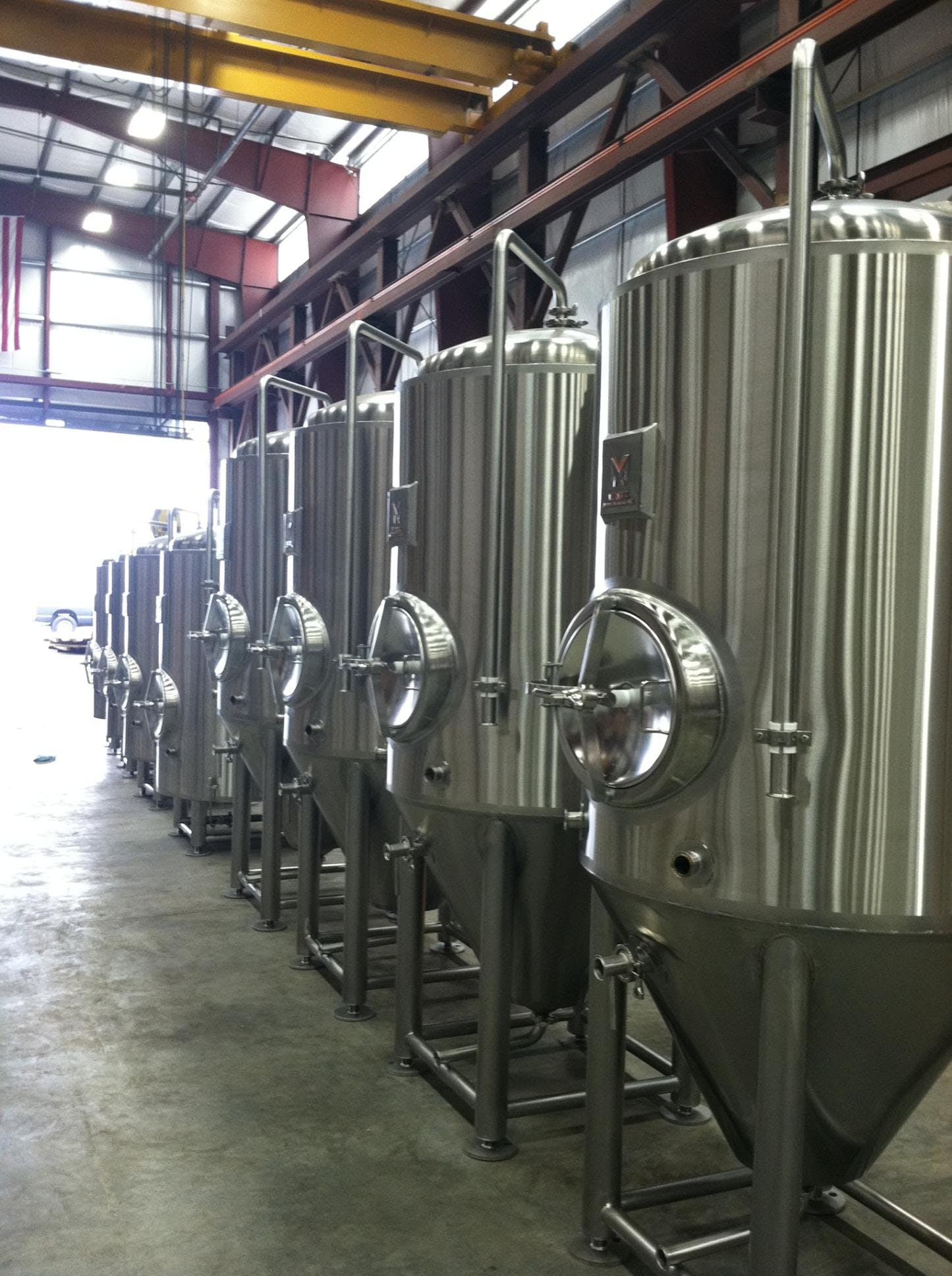 10 BBL Cellar Tanks Brewery tank sold by Marks Design and Metalworks
