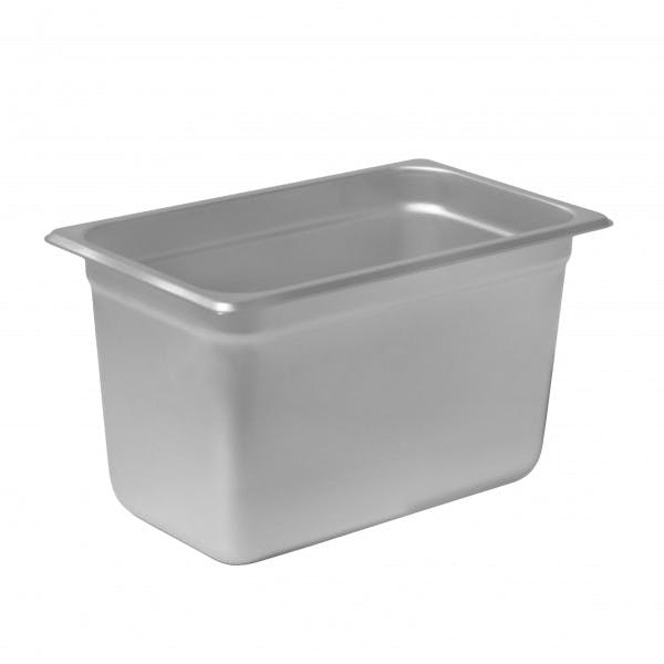 "6"" Fourth Size Stainless Steam Table Pan"