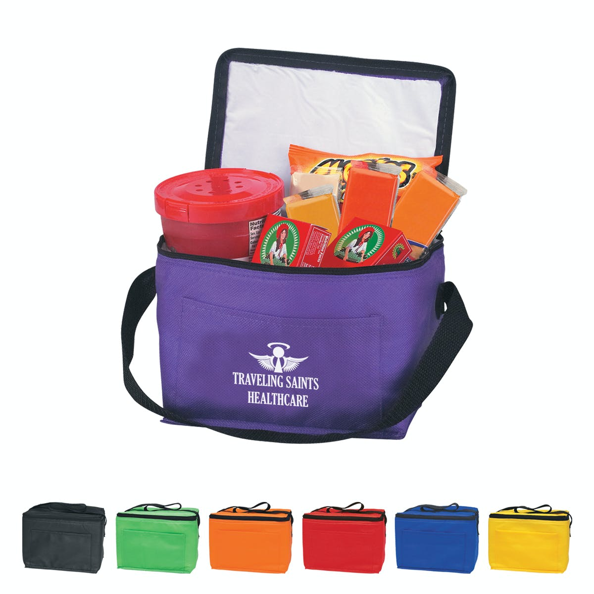Insulated Six Pack Cooler Bag (Item # SIGLL-EZUQK) Insulated cooler sold by InkEasy