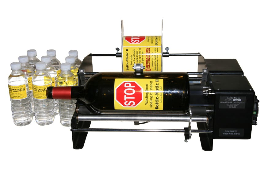 Bottlematic Labeler Labeling machine sold by The Compleat Winemaker