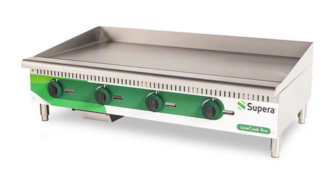 "Supera (LCG48-1) - LineCook Pro 48"" Gas Griddle Griddle sold by Food Service Warehouse"