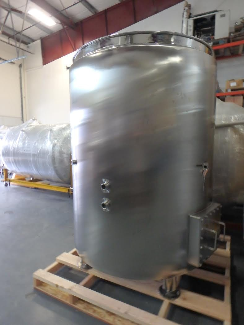 10 bbl Insulated Brew Kettle - sold by GLACIER TANKS