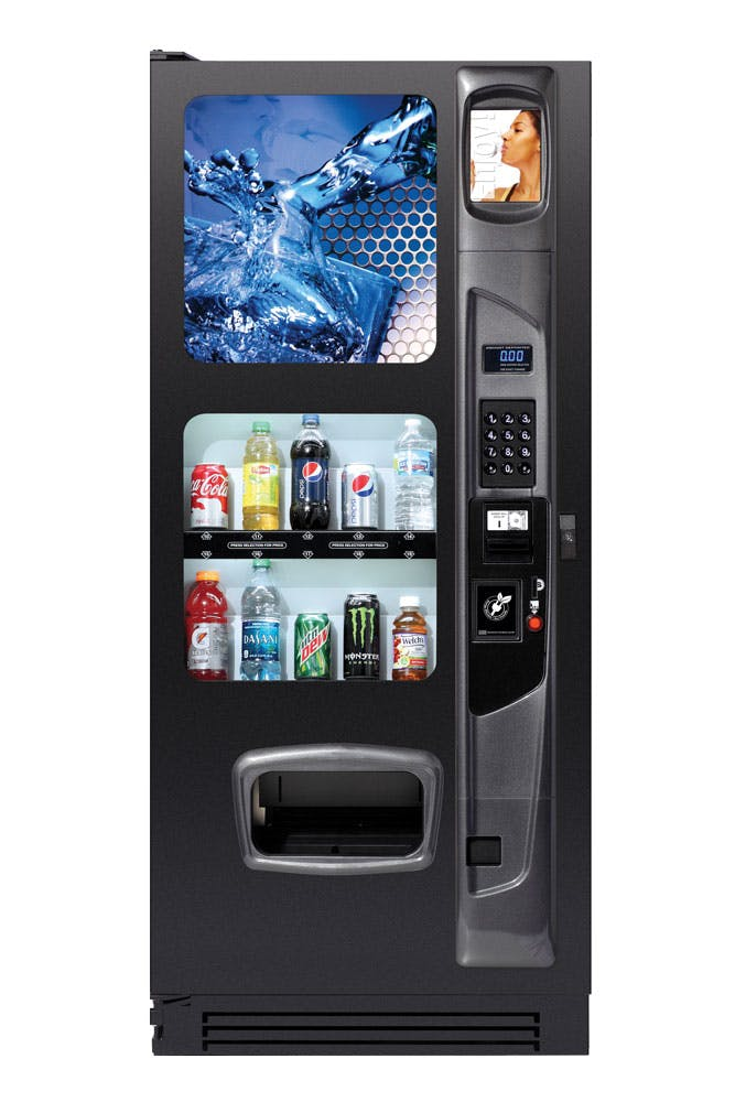 10 Selection Drink Machine Vending machine sold by Universal Vending Consultants