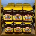 HONEY - RAW & UNFILTERED 3LB JAR CASE - Honey sold by Bennett's Honey Farm
