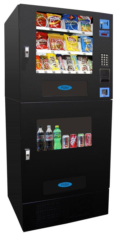 Seaga Snack and Soda Combo Machine Vending machine sold by CandyMachines.com