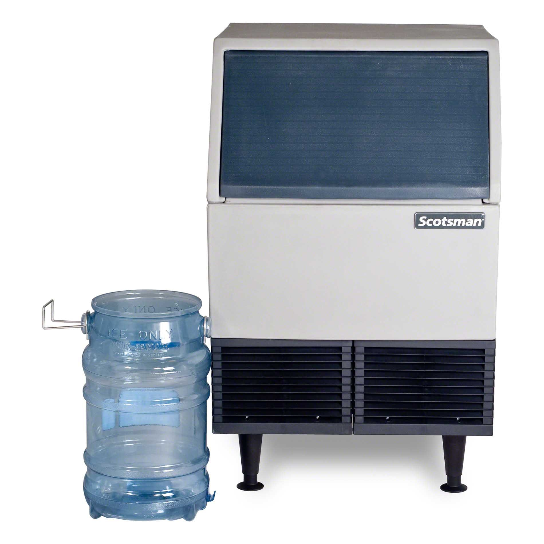 Scotsman - AFE424A-1A 395 lb Self-Contained Flake Ice Machine w/ Storage Ice machine sold by Food Service Warehouse