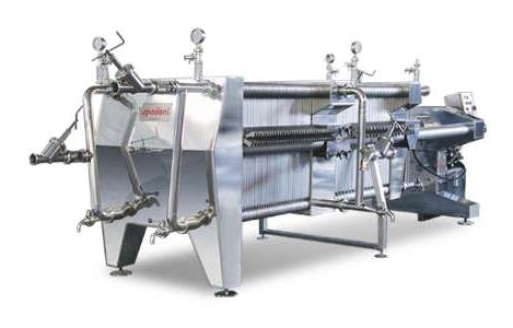 ITALfilters PFK 100 Plate filters Plate filter sold by Prospero Equipment Corp.