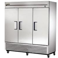 True T-72 - 72 Cu. Ft. Solid 3 Door Commercial Refrigerator Commercial refrigerator sold by Prima Supply