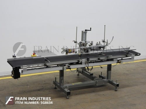 LABELER MACHINES, EQUIPMENT Labeling machine sold by Frain Industries
