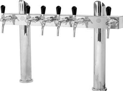 "Tower ""H"" Lindr on 2 stands Draft beer tower sold by Tap Your Keg, LLC"