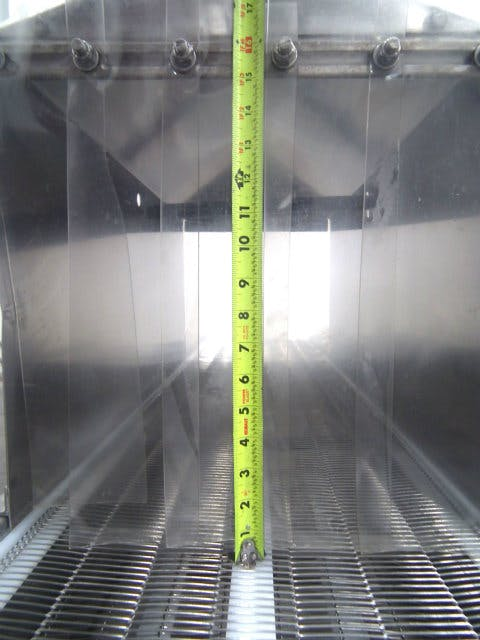 Used Innovative Cleaning Systems DS3 Cleaning Conveyor - sold by Sigma Packaging