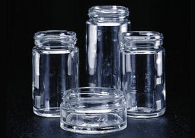 Straight Sided Jars Glass Jar sold by Kaufman Container